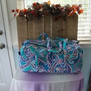 NEW Vera Bradley Lg Traveler Duffel Bag Waikiki